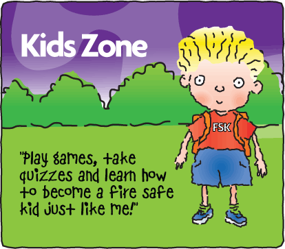 San Antonio Texas Fire Safety for kids