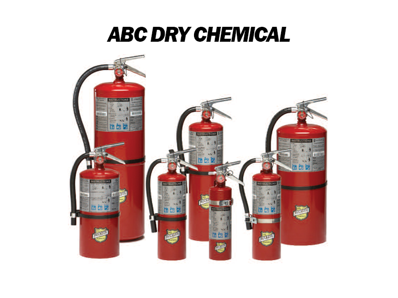 ABC Dry Chemical Fire Extinguishers for Sale - Austin, TX