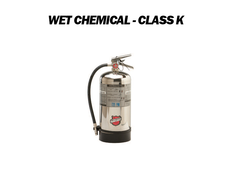 Wet Chemical Class K Fire Extinguisher for Sale - Austin, TX