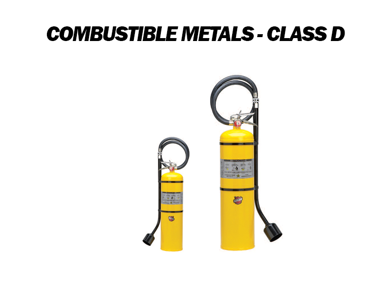 Combustible Metal - Class D Fire Extinguishers for Sale in San Antonio, TX