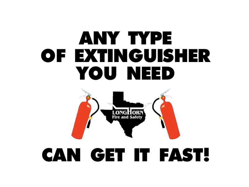 All Types of Fire Extinguishers for Sale in Austin, TX